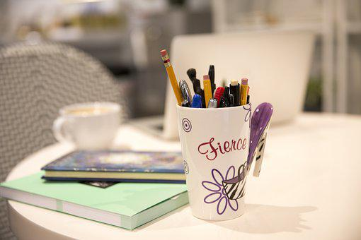 Table, Coffee Cup, Desk, Journal, Cafe, Cup, Mug, Relax