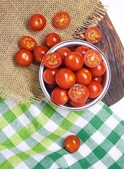 Tomato, Vegetable, Background, Food, Healthy, Red