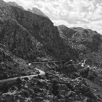 Mountain, Landscape, Nature, Travel, Rock, Road
