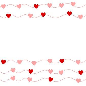 Heart, Shape, Background, Love, Valentine, Design