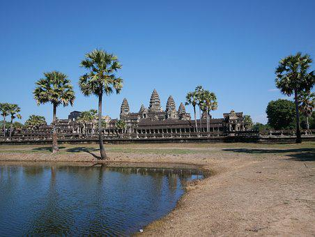 Cambodia, Angkor Wat, Places Of Interest