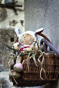Basket, Food, Petit, Eat, Vegetables, Garden, Doudou