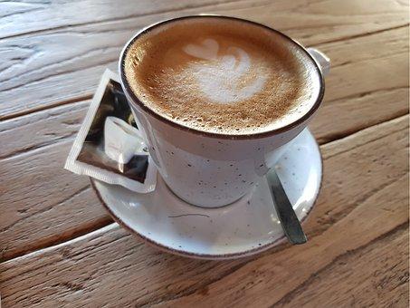 Coffee, Espresso Coffee, Caffeine, Drink, Wood
