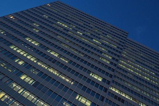 Architecture, City, Skyscraper, Building, Modern, Glass