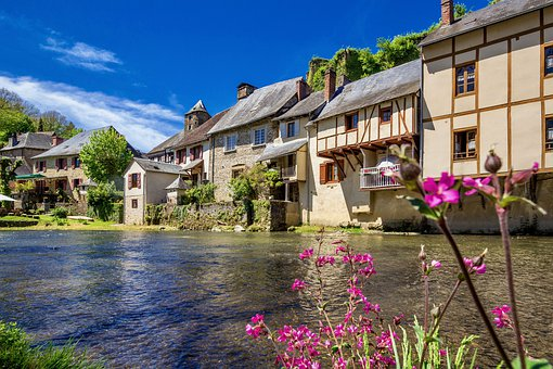 Architecture, House, Water, Building, Travel, Tourism