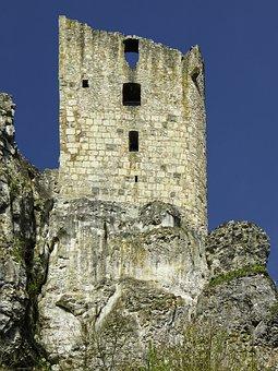 Burgruine, Neideck, Residential Tower, Ruin, Castle