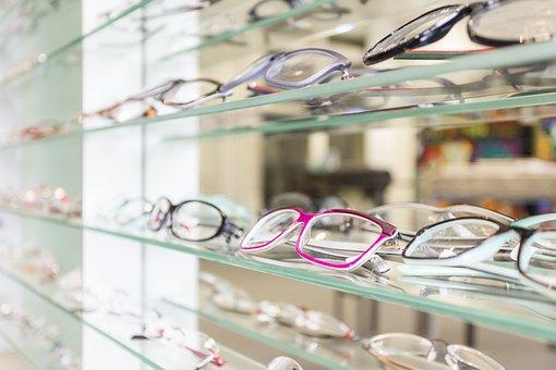 Glass, Company, Glasses, Shelf, Glasses And Opticians