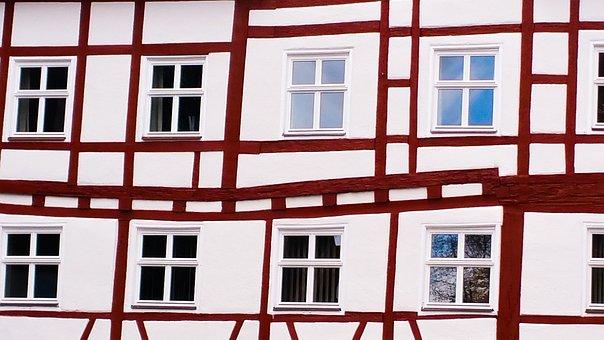 Window, Architecture, Home, Truss, Barrel, Facade