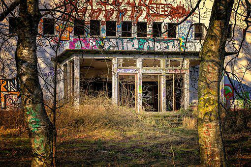 Lost Places, Home, Ruin, Destroyed, Broken, Dilapidated