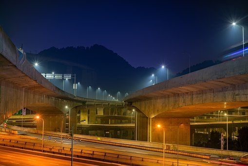 Transport System, Twilight, Tourism, Illuminated, Road