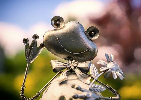 Greetings, Nature, Animal World, Small, Animal, Frog
