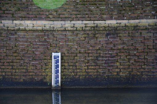 Brick, Stone, Pattern, Structure, Water Level, Hm