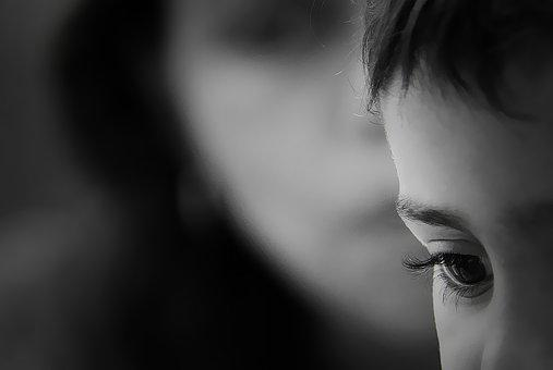 Portrait, People, Adult, Focus, Woman, Side View
