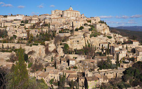 Gordes, Village, Luberon, France, Provence