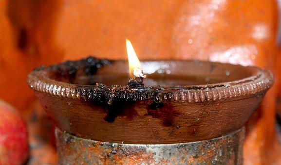 Candle, Flame, Food, Dark, Celebration, Christmas