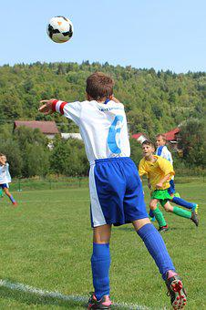 Aut, Autové Throw-in, Children, Sport, Football, Child