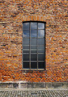 Wall, Brick, Window, Old, Historically, Architecture