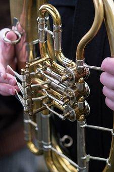 Brass, Equipment, Instrument, Music, Brass Instrument