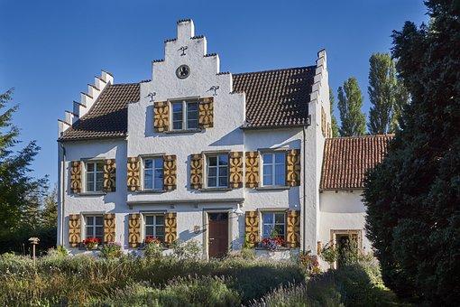 Architecture, Home, Window, Tree, Sky, Island Of Werth