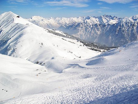 Snow, Winter, Mountain, Mountain Summit, Cold, Panorama