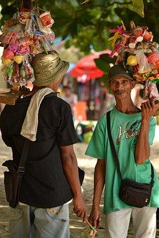 People, Market, Man, Seller