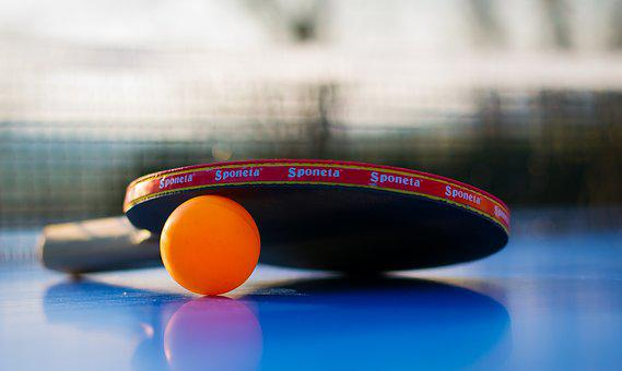 Sport, Ball, Leisure, Play, Table Tennis, Ping-pong