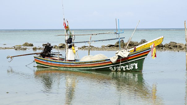 Water, Sea, Boat, The Transportation System, Fisherman