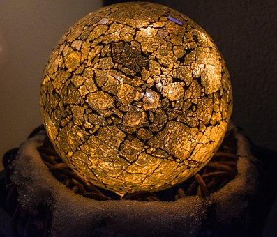 Background, Ball, Round, Spherical, Glass, Lighting