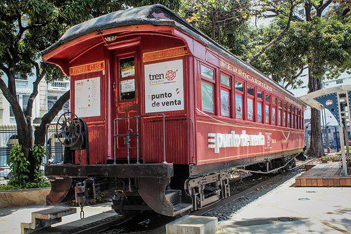 Train, Trail, Trip, Railway Line, La Perla