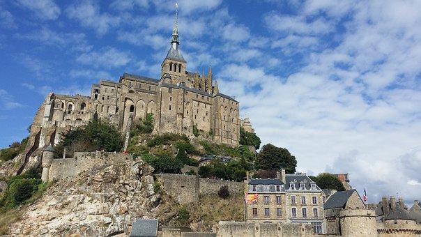 Mont Saint Michel - France, Architecture, Old, Travel