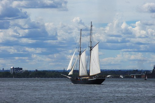 Water, Sailboat, Sail, Ship, Watercraft, Nyc