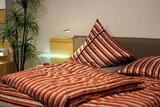 Bedroom, Bed, Bed Linen, Furniture, Hotel, Room, Sleep