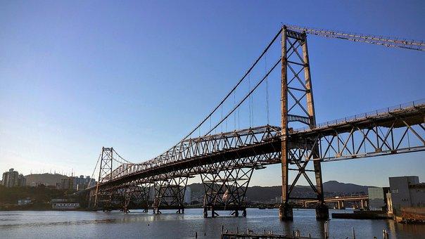 Point, Floripa, Bridge, Florianópolis, History