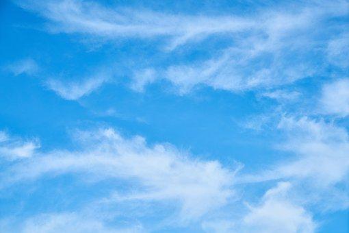 Cloud, Blue, Background, Composition, Space