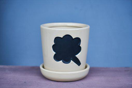 Flowerpot, Ceramic, Decor, Macro, Decoration, Gift