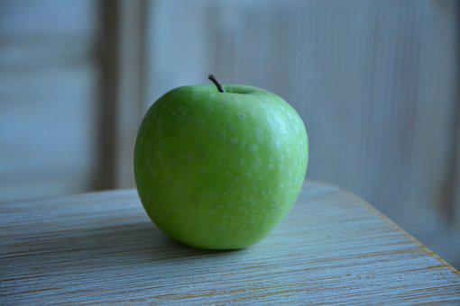 Food, Fruit, Apple, Bless You, Healthy, Fresh, Green