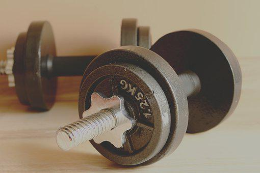 Weightlifting, Barbells, Dumbbell, Heavy, Iron