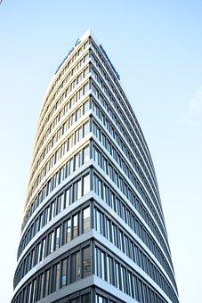 Skyscraper, Architecture, High, Office, City, Building