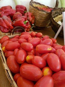 Food, Basket, Vegetable, Fruit, Market