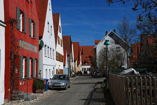 Historic City Center, Architecture, Street, Outdoors