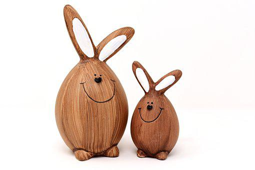 Rabbit, Easter Bunny, Easter, Funny, Figures