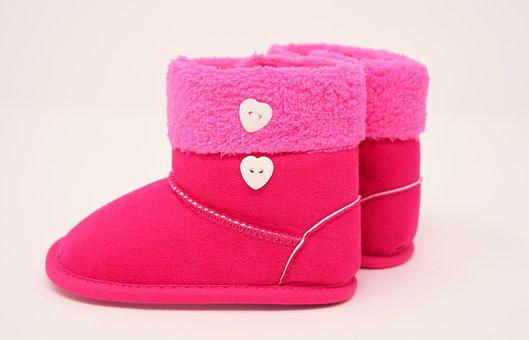 Winter Shoes, Children's Shoes, Small, Cute, Charming