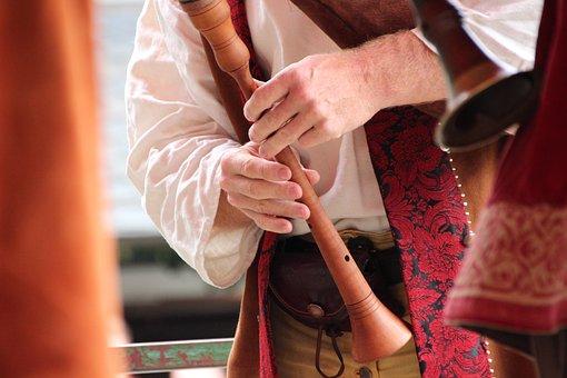 Flute, Shawm, Woodwind, Wooden Flute, Music