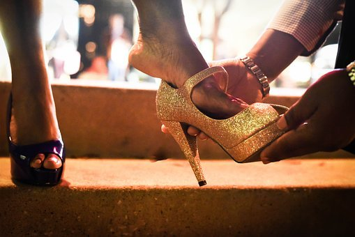 People, Adult, Woman, Cinderella, Sparkle, Shoe, Shoes