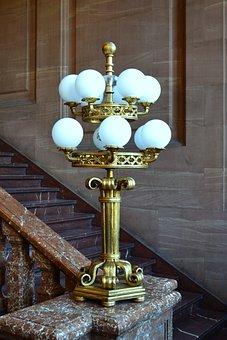 Antique, Technique Light, Replacement Lamp, Monument