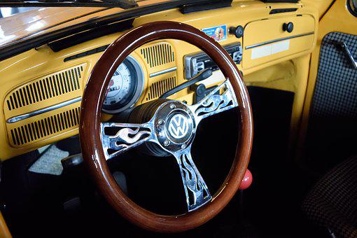 Car, Transport, Vehicle, Engine, Steering Wheel