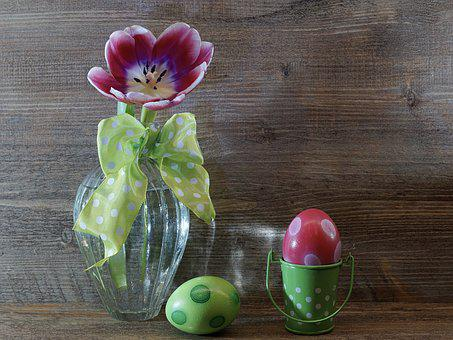 Easter, Easter Eggs, Food, Color, Background, Ornament