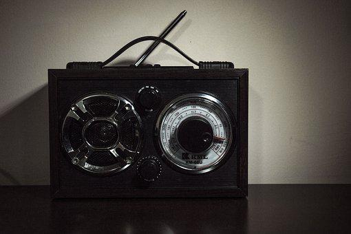 Speaker, Retro, Equipment, Classic, Wireless