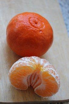 Food, Fruit, Healthy, Background, Dessert, Mandarin