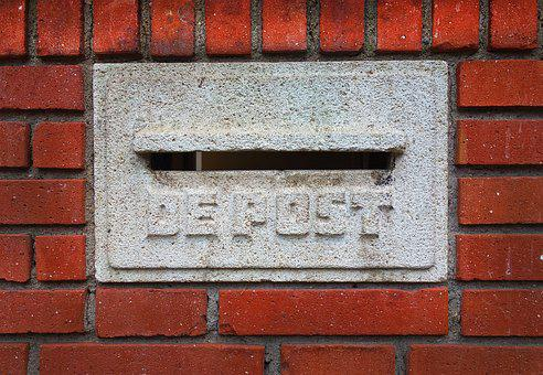 Mail Box, Letter Box, In Wall Letterbox